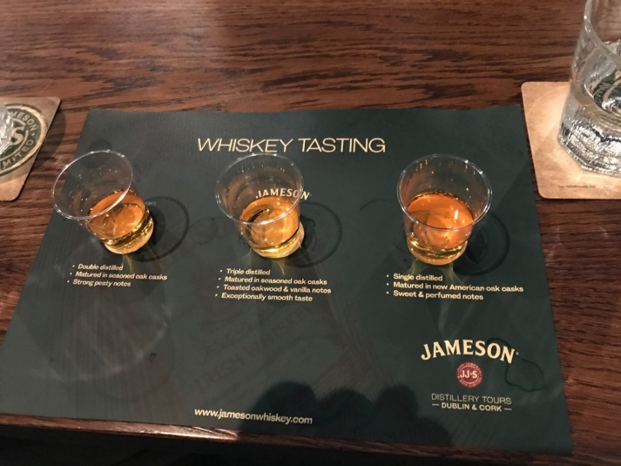 Jamesons-Whiskey-Tasting-near-Cork