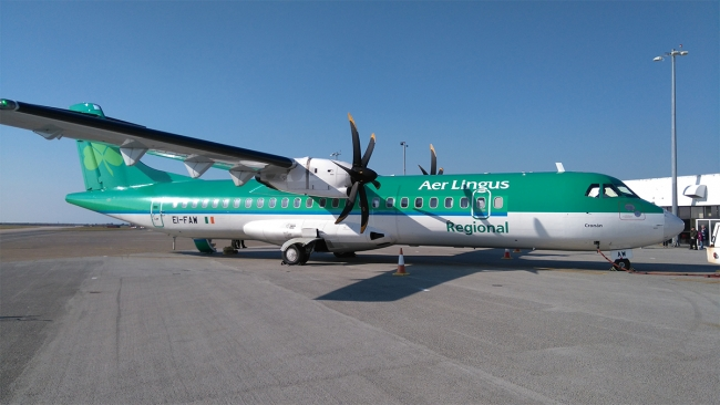 Cornwall-Airport-Newquay-Aer-Lingus-on-Apron