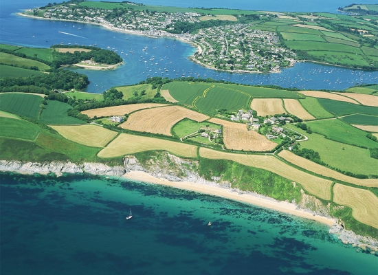 Cornwall-St-Mawes-Aerial-Shot-the-Roseland
