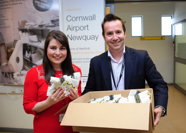 Cornwall-Airport-Newquay-Ryanair-Launch-Pasties-Al-Titterington