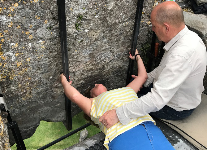 Kissing-the-Blarney-Stone-at-Blarney-Castle